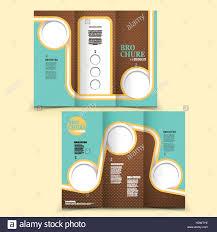 Modern Tri Fold Brochure Design With Colorful Geometric Element