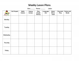 lesson plan template word doc weekly lesson plan template word document complete guide example