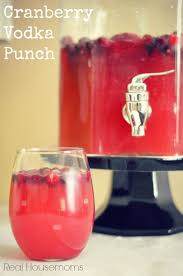 Cranberry Vodka Punch   Real Housemoms   This is perfect for my Christmas  party!