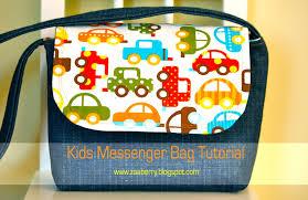 Zaaberry: Kid's Messenger Bag Tutorial & Kid's Messenger Bag Tutorial Adamdwight.com