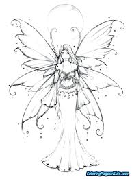 Tooth Fairy Coloring Pages Free Picture Page Printable Mebelmag