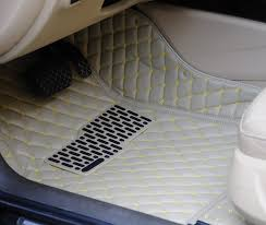 Free shipping full set car carpet covers 3d leather mat anti slip customize floor mats for Volkswagen Multivan-in Floor Mats from Automobiles