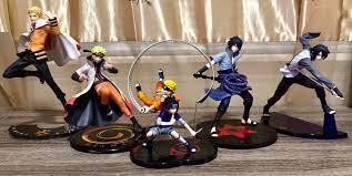 Naruto and Sasuke Evolution