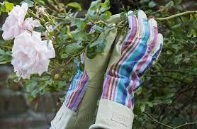 las gauntlet garden gloves s m the