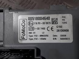 used ford ka ii 1 2 fuse box f02am433rx second hand carparts 2003 Ford E350 Fuse Diagram fuse box from a ford ka ii 1 2 2009