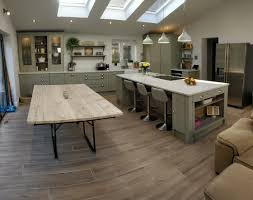 Shaker Solid Ash Kitchen In French Grey Blok Designs Ltd
