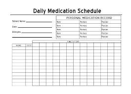 Personal Health Record Forms Free Personal Health Record Template