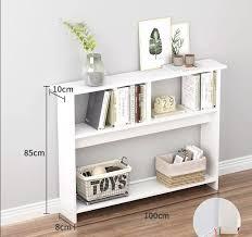 100x10xh85 cm for slim space shelving