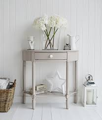 small console table with drawer. The Oxford Grey Half Moon Console Table With Draw. Suits Perfectly In A White Hallway Small Drawer