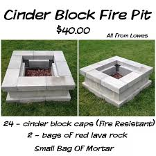 concrete block reinforcement wire cinder bbq pit plans bookshelf outdoor fireplace how to build with blocks