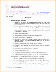 5 interior design letter of agreement template