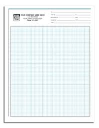 Carbonless Engineering Graph Paper