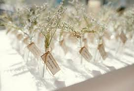 unique wedding escort & place card ideas weddbook Wedding Escort Cards And Table Numbers (above) if you're having a fall or rustic themed woodland wedding then grab these pine cone wedding favors from ven decor and let them act as place cards DIY Wedding Table Cards