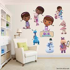 doc mcstuffins room decor decal