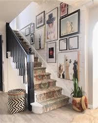 Why not try one of these twenty creative ways to paint your stairs? The Best Stairway Gallery Wall Ideas That Warm Your Home Home Garden Inspiring Interior Outdoor And Diy Ideas