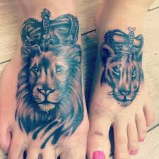 lioness tattoo. Perfect Tattoo If Youu0027re Looking For Hisandhers Tattoo Ideas Then There Arenu0027t Many  Better Subjects Than Lions And Their Lionesses They Rule The Jungle World Would  Intended Lioness Tattoo