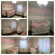 Striped accent wall, Pink striped walls ...
