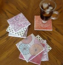 Decorative Tile Coasters 100 Creative Ideas for Reusing Leftover Ceramic Tiles Hative 84