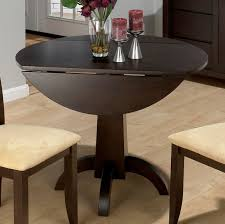 chic modern round dining table with leaf dining room incredible round table with leaf endearing drop