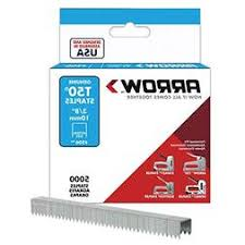 arrow fastener 506ip genuine t50 3 8 inch staples 5 000 pac