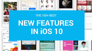 100 New Apple Ios 10 Features Future Drafted