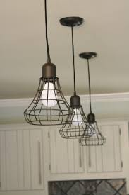 unique diy lighting. Kitchen, Lamp Industrial Pendant Lights Where To Find Affordable Cool Modern Lighting Triple Cage Lamps Unique Diy