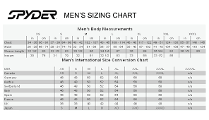 13 Accurate Spyder Size Chart