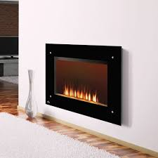 image of wall mount gas fireplace