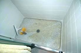 solid shower pan custom solid surface shower pan size