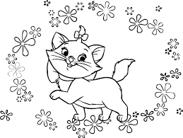 The Aristocats Coloring Pages The Coloring Pages Aristocats Coloring