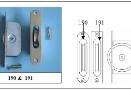 190 1 ¾ solid br wheel sash axle pulley with square br faceplate chrome plated