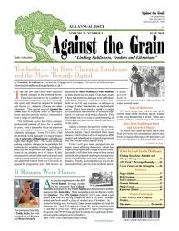 Against The Grain V31 3 June 2019 By Against The Grain Issuu