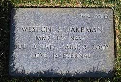 Weston Spencer Jakeman (1913-2003) - Find A Grave Memorial