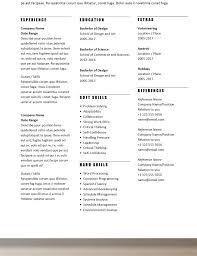 Simple Resume Templates Rumble Design Store Template Word Free Muygeek