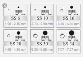 Printable Rhinestone Size Chart Gbpusdchart Com