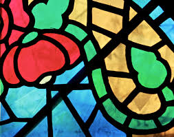 Image result for faux stained glass