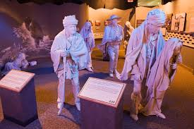 photo trail of tears exhibit at the cherokee national   original