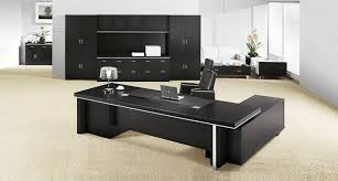 large office desks. Office : The Luxurious Modular Furniture With Large Desk And Chair Comfy Lamp Modern Black Cabinets Plus Elegant Desks