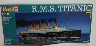 r m s titanic 1 700 plastic model kit