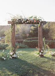 25 best ideas about outdoor wedding arches on