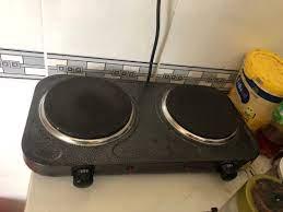 HÀNG GIẢM GIÁ] Bếp điện đôi mâm nhiệt Hasu