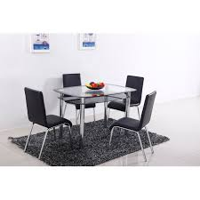 dining chairs set of 4. Best-Master-Furniture-T06-Leather-Dining-Chairs-Set- Dining Chairs Set Of 4 E