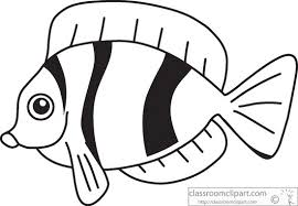 fish clipart black and white. Beautiful White Inside Fish Clipart Black And White P
