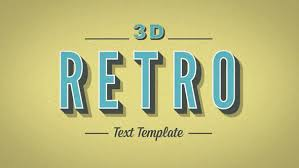 typography templates 20 cool 3d typography after effects templates pixel curse