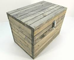 made to order rustic wooden storage box with lockable latch small wood chest medium accessory trunk small toy box wedding card box