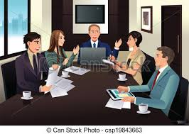 office meeting pictures. Wonderful Meeting Business Team Meeting In A Modern Office  A Vector To Office Meeting Pictures