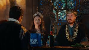 Bud Light Platinum Commercial Actress Bud Light Dilly Dilly Wieden Kennedy