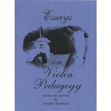essays on violin pedagogy by lyman bodman p shar music  essays on violin pedagogy by lyman bodman p shar music com
