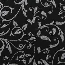 Black And White Invitation Paper Chiffon Enchanting Black And Silver Glitter Invitation Paper