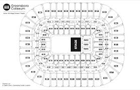 Acc Seating Chart Concert 3d Seating Chart See Seating Charts Module Greensboro
